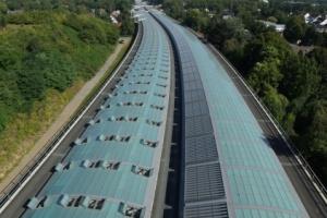 Lärmschutzeinhausung - A1 Köln-Lövenich